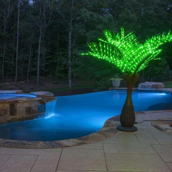 Swimming Pool Lighting Ideas 20