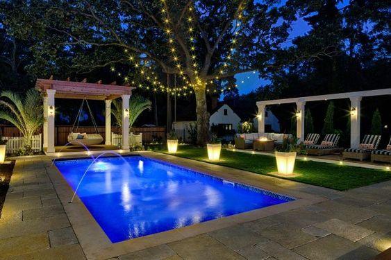Swimming Pool Lighting Ideas 21