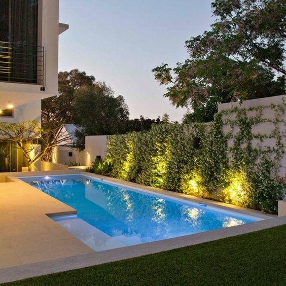 Swimming Pool Lighting Ideas: Simple Elegant Lighting