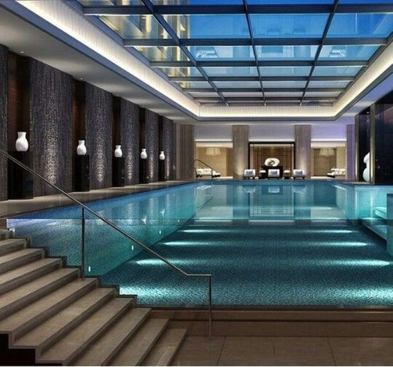 Swimming Pool Lighting Ideas 7