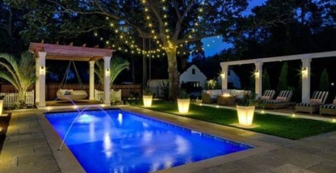 Swimming Pool Lighting Ideas feature