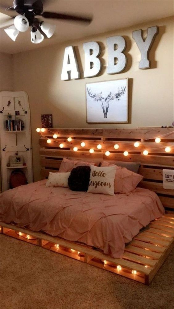 Bedroom Decoration Ideas: 24+ Most Creative DIY Inspirations on Pallet Bedroom Design  id=26959
