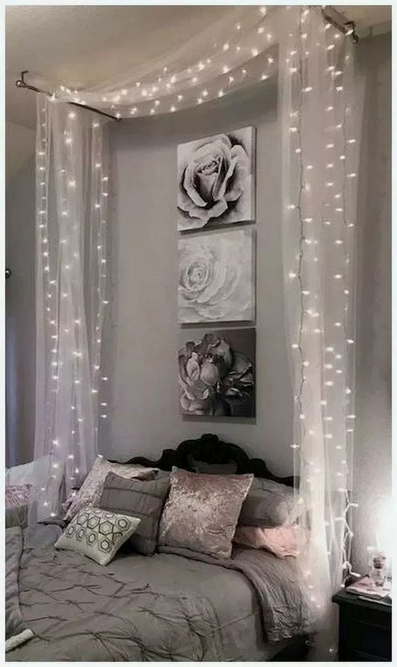 Bedroom Decoration Ideas: Stunning Sparkling Shade