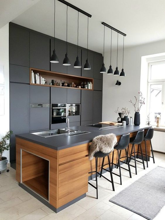 Contemporary Kitchen Ideas: Elegant Earthy Decor