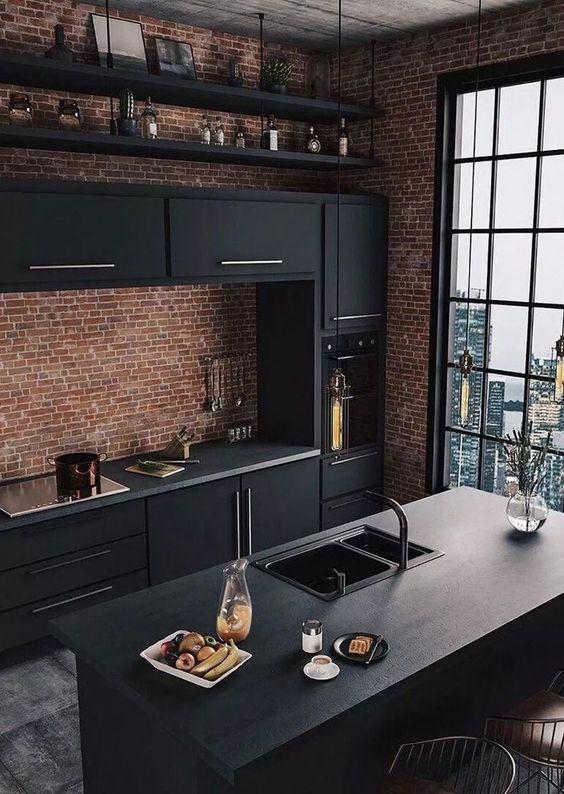 Contemporary Kitchen Ideas: Stunning Industrial Decor