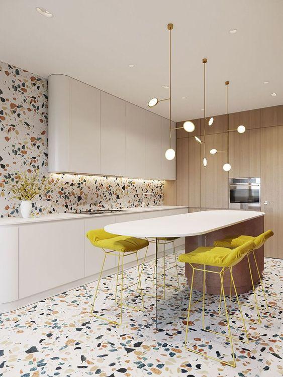 Contemporary Kitchen Ideas: Unique Festive Decor