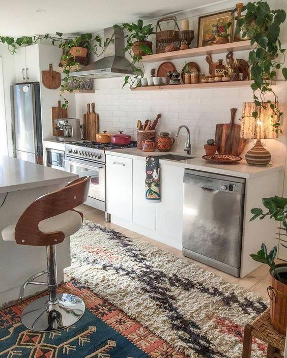 Kitchen Decor Ideas: Catchy Boho Decor