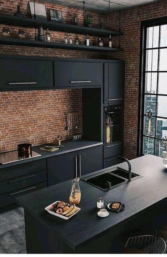 Kitchen Decor Ideas: Elegant Industrial Decor