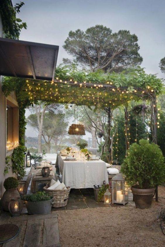 Backyard Dining Ideas 11