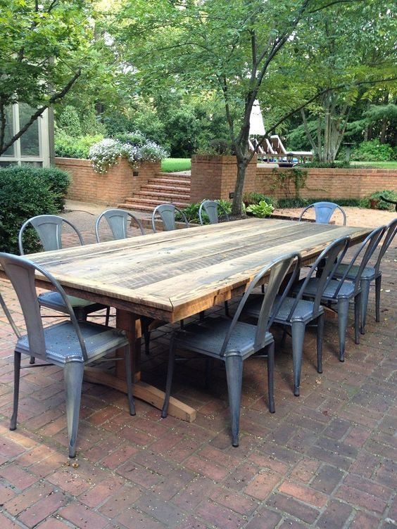 Backyard Dining Ideas 12