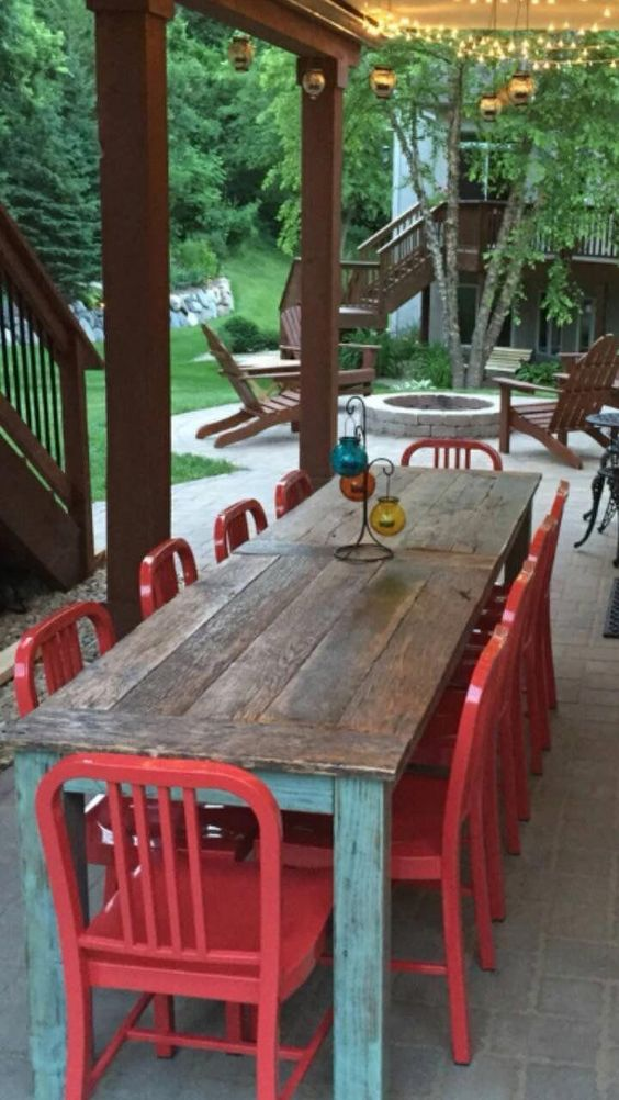 Backyard Dining Ideas 13