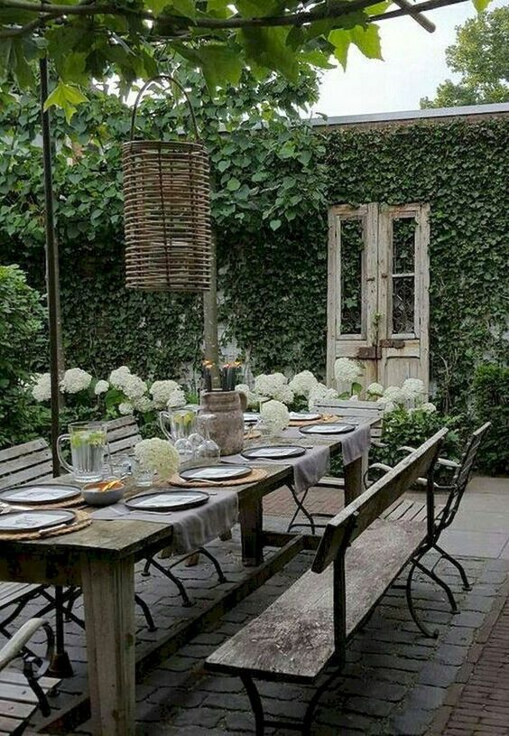 Backyard Dining Ideas 14