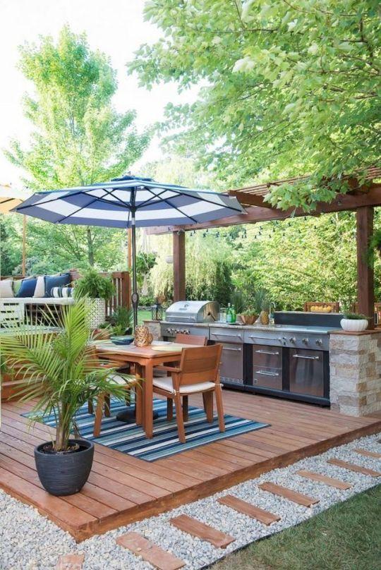 Backyard Dining Ideas 16