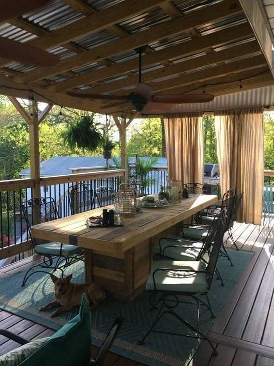 Backyard Dining Ideas 20