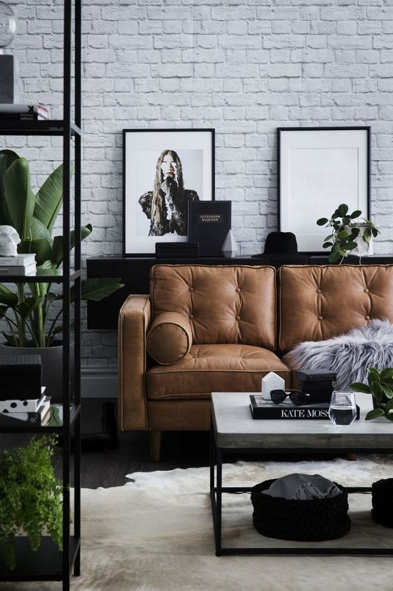 Elegant Living Room Ideas: Modern Rustic Decor