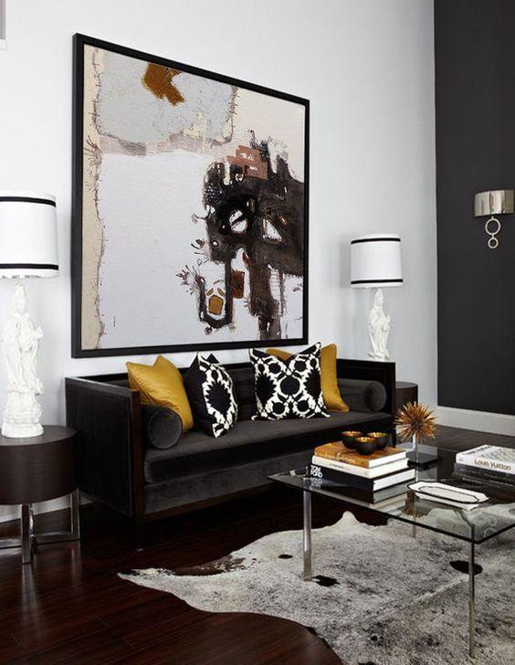 Elegant Living Room Ideas: Glam Neutral Decor