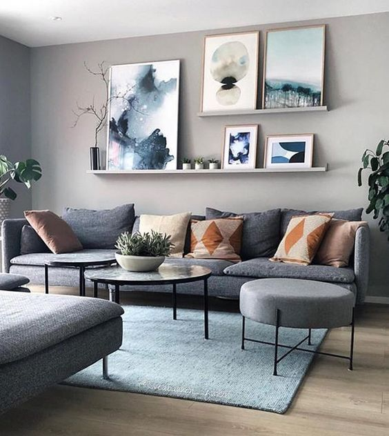 Elegant Living Room Ideas: Catchy Neutral Decor