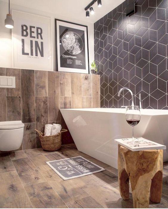 Industrial Bathroom Ideas 16
