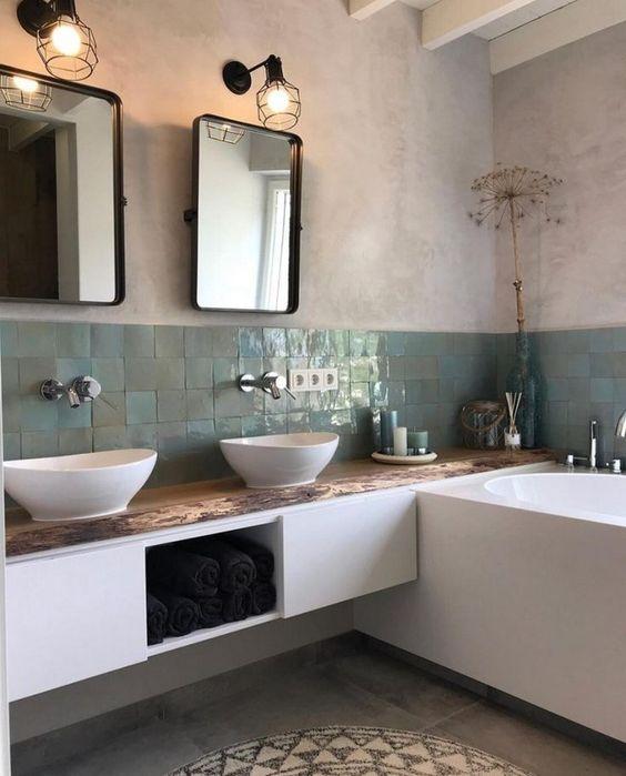Industrial Bathroom Ideas 17