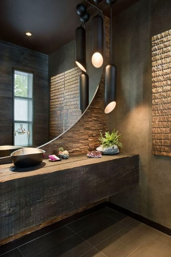 Industrial Bathroom Ideas 19