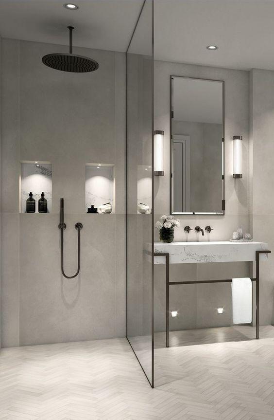 Industrial Bathroom Ideas: Stylish Neutral Decor