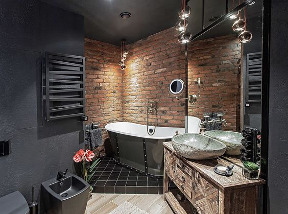 Industrial Bathroom Ideas 22