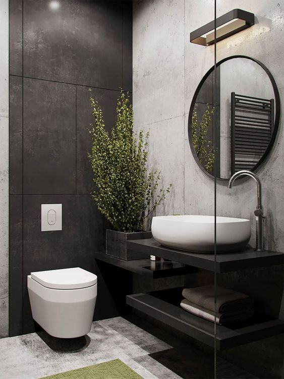 Industrial Bathroom Ideas: Chic Neutral Decor