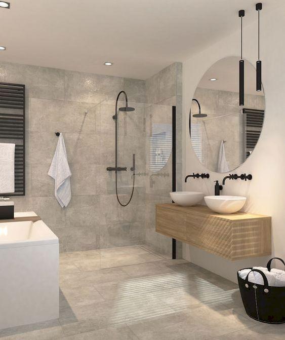 Industrial Bathroom Ideas 9