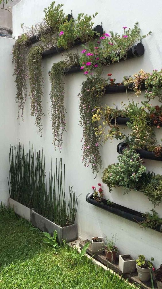 Patio Plants Ideas: Creative Floating Planters