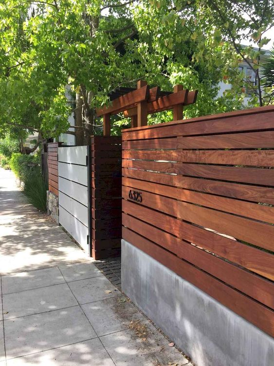 Simple Fence Ideas 6