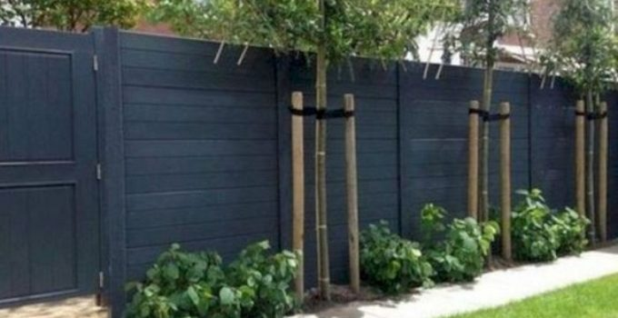 Simple Fence Ideas feature