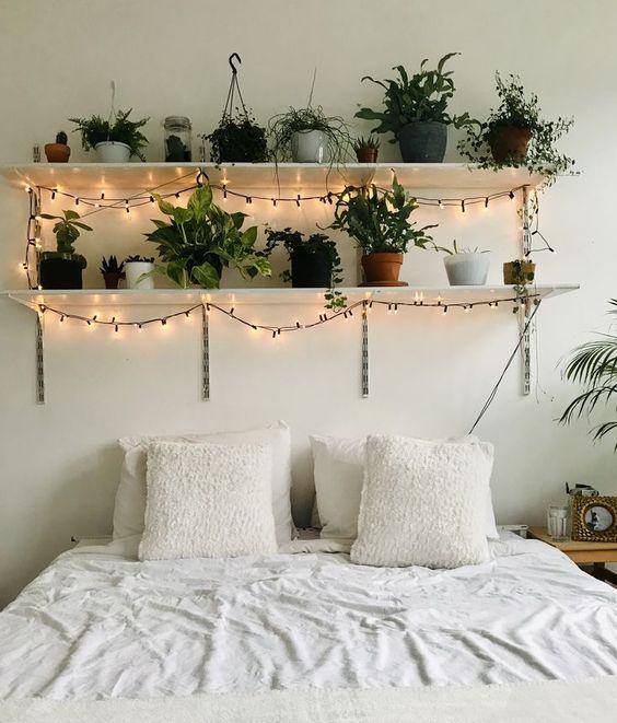 DIY Bedroom Lighting Ideas: Lighten Floating Shelf