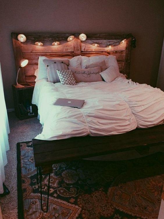 diy bedroom lighting ideas 12