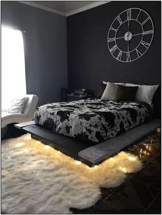 DIY Bedroom Lighting Ideas: Elegant Minimalist Light