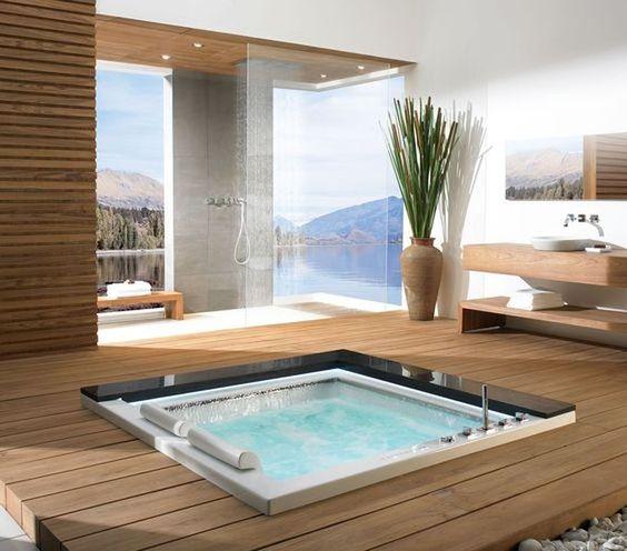 Hot Tub Bathroom 8