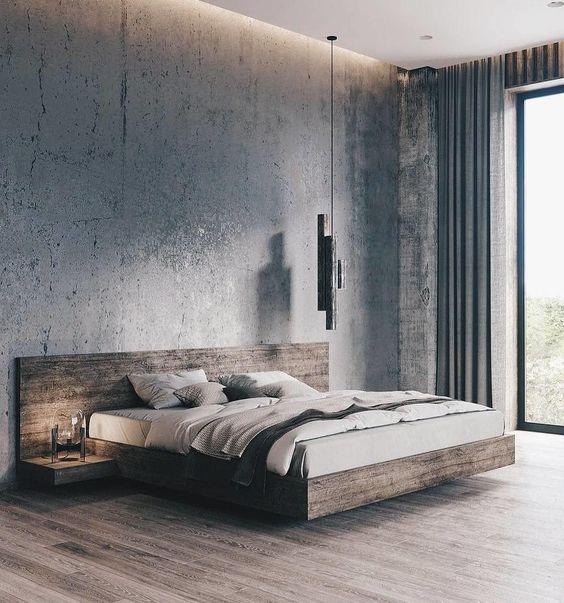 Contemporary Bedroom Ideas: Stunning Rustic Nuance
