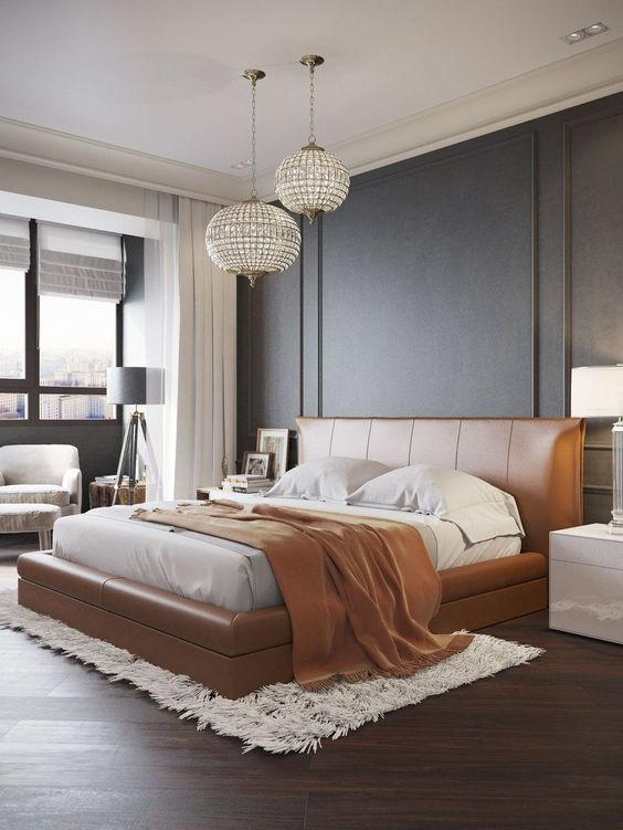 Contemporary Bedroom Ideas: Gorgeous Transitional Decor
