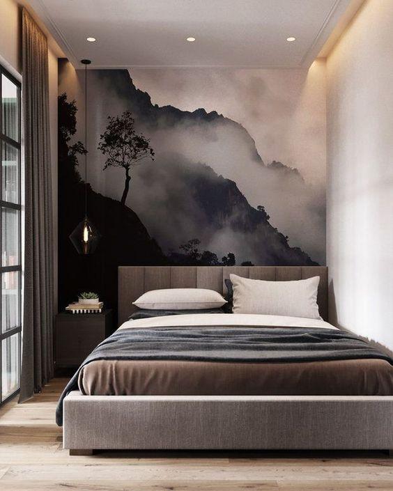 Contemporary Bedroom Ideas: Artful Cozy Decor