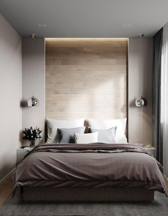 Contemporary Bedroom Ideas: Warm Earthy Decor
