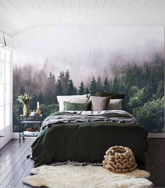 Contemporary Bedroom Ideas: Unique Earthy Decor