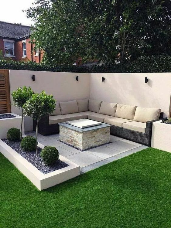 Patio Landscaping Ideas: Simple Minimalist Design