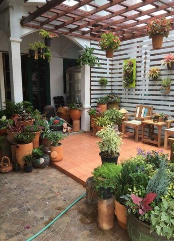 patio landscaping ideas 18