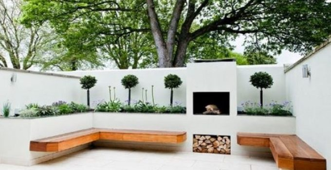 patio landscaping ideas feature