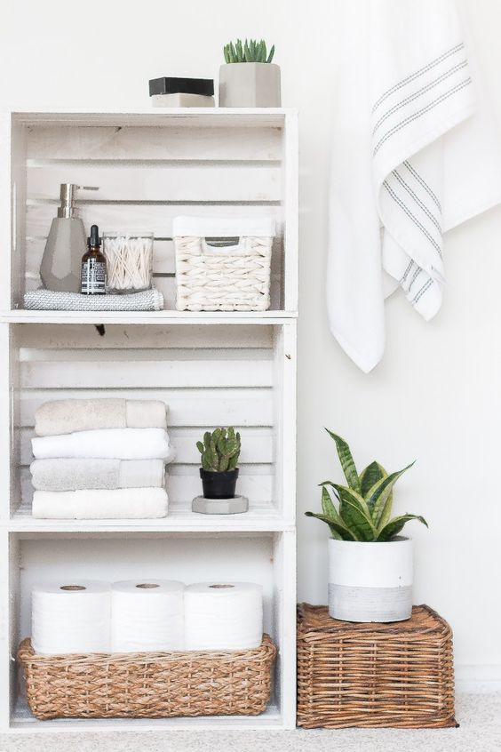 Bathroom Shelves Ideas 12