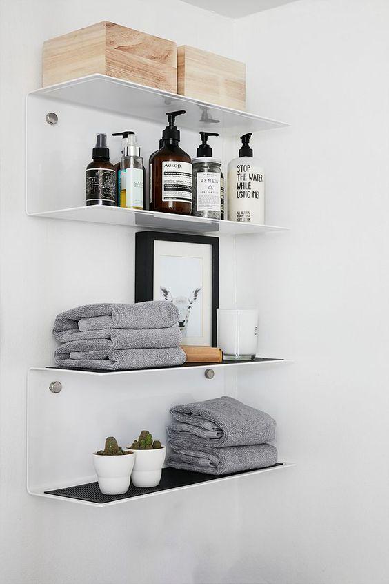 Bathroom Shelves Ideas 14