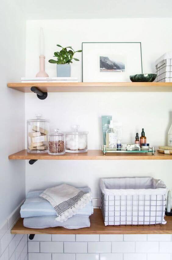Bathroom Shelves Ideas 19