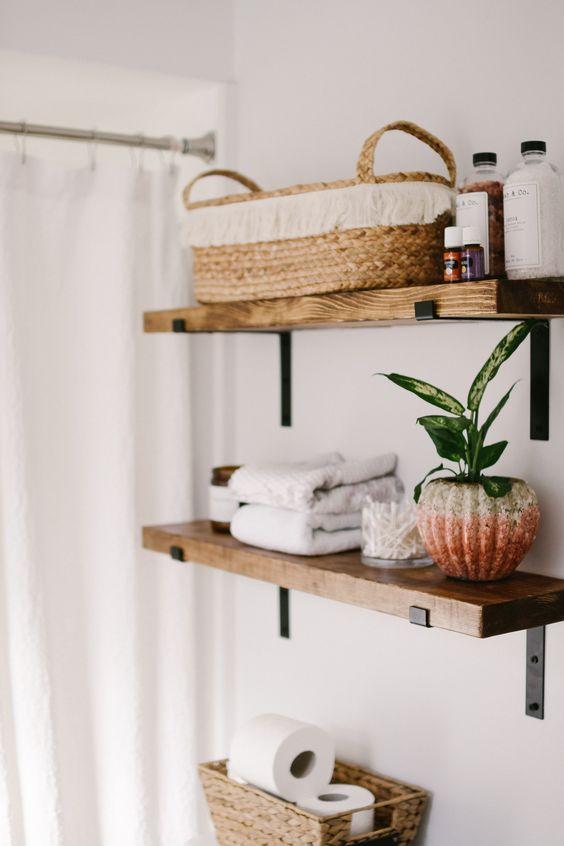 Bathroom Shelves Ideas 21