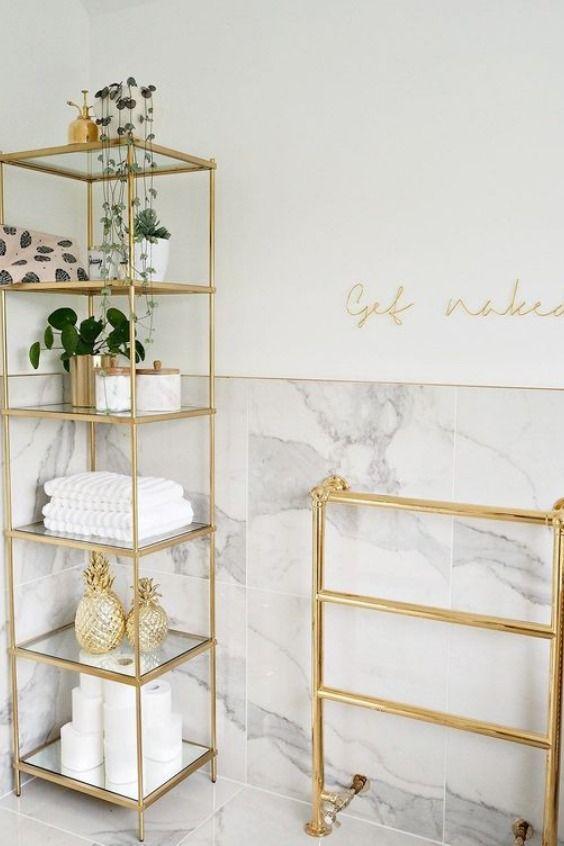 Bathroom Shelves Ideas: 26+ Ideas to Keep Your Bathroom Organized