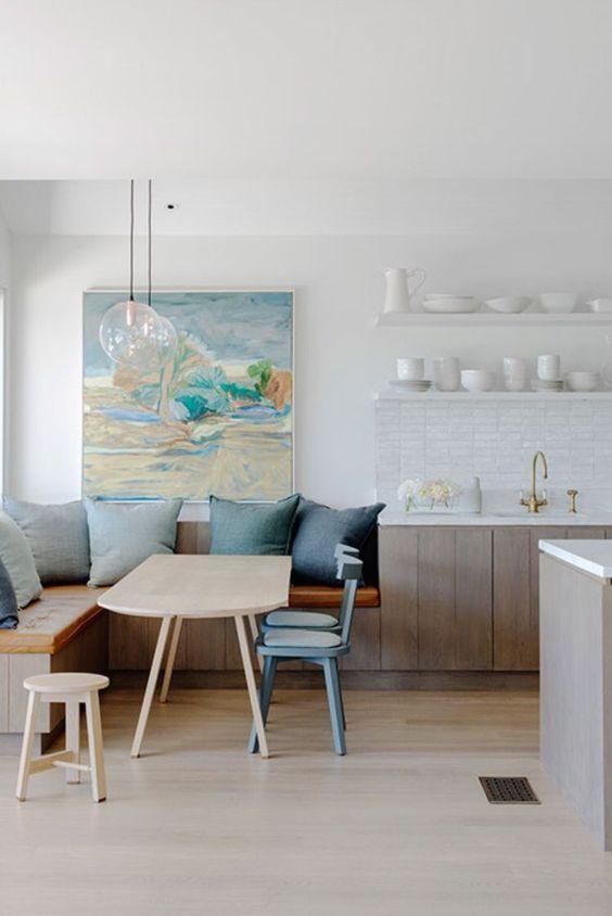 Dining Room Bench Ideas 12