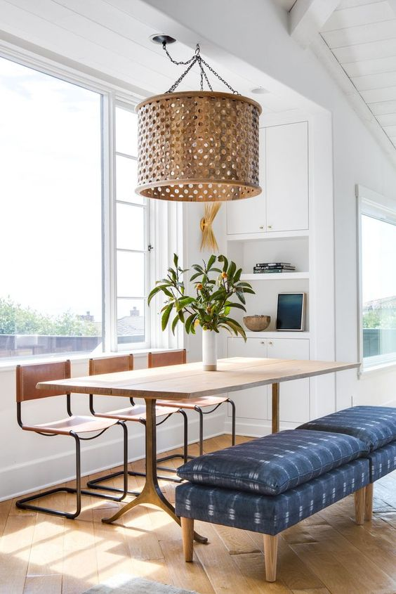 Dining Room Bench Ideas: Simple Casual Bench